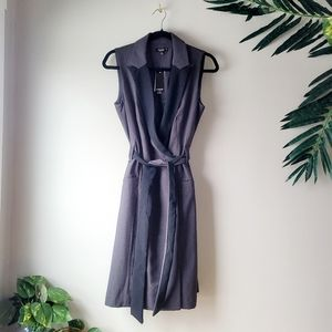 Premise Dress wrap me elegant office work belted